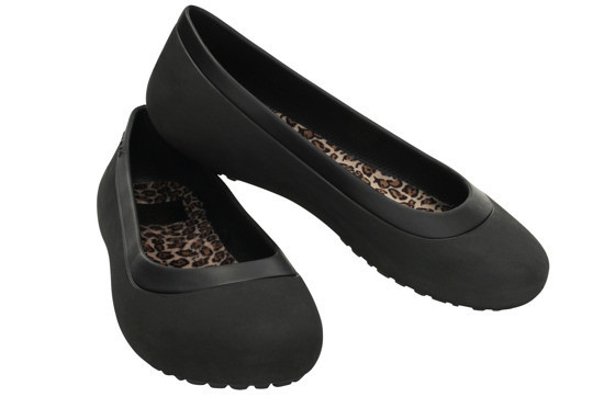 BUTY BALERINY CROCS MAMMOTH 16203 BLACK  -20%