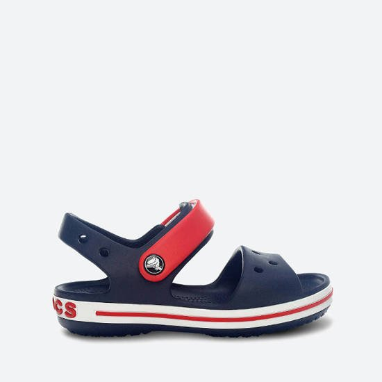 CROCS Crocband Kids 12856 NAVY/RED