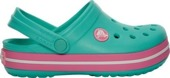 CROCS KIDS 10998 Island Green/Pink