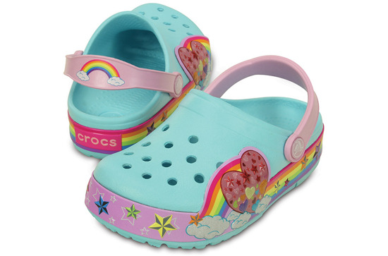 CHILDREN'S SHOES CROCS RAINBOW 202662 ICE