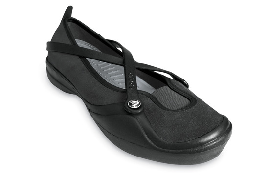 CROCS SHOES CELESTE SUEDE 10064 BLACK