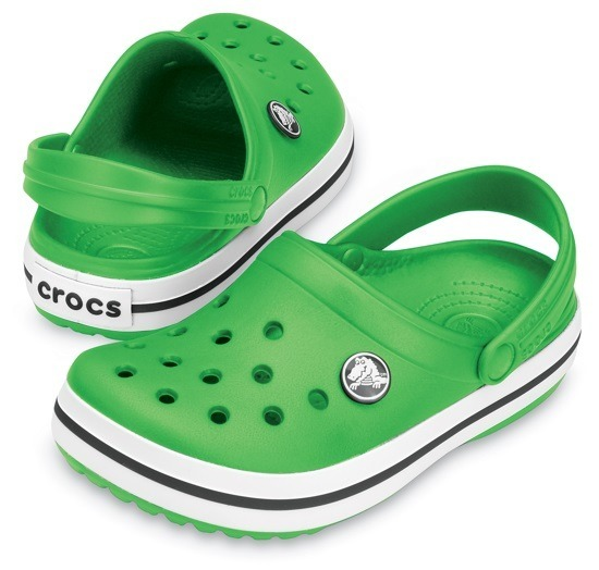 CROCS SHOES FLIP-FLOPS CROCBAND KIDS 10998 LIME