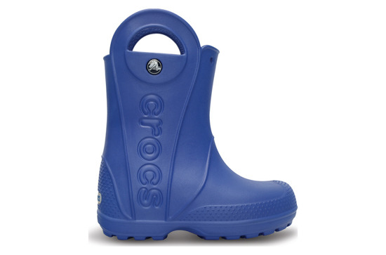 CROCS SHOES WELLINGTONS HANDLE IT RAIN BLUE 12803