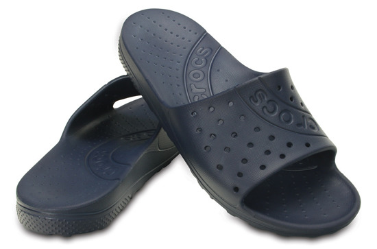 MEN'S SHOES FLIP-FLOPS CROCS CHAWAII SLIDE 202222 NAVY