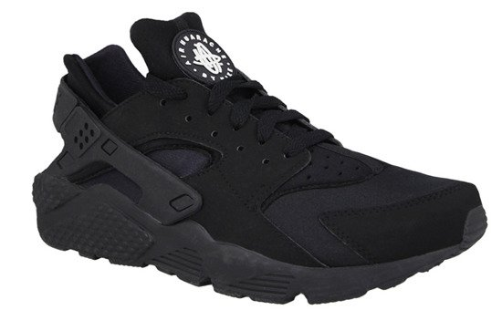 MEN'S SHOES NIKE AIR HUARACHE TRIPLE BLACK 318429 003