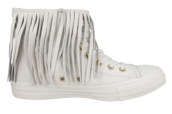 WOMEN'S SHOES CONVERSE CHUCK TAYLOR ALL STAR FRINGE 551643C