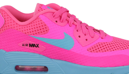 WOMEN'S SHOES NIKE AIR MAX 90 BREEZE (GS) 833409 600