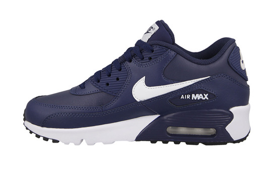 WOMEN'S SHOES NIKE AIR MAX 90 LEATHER (GS) 833412 400