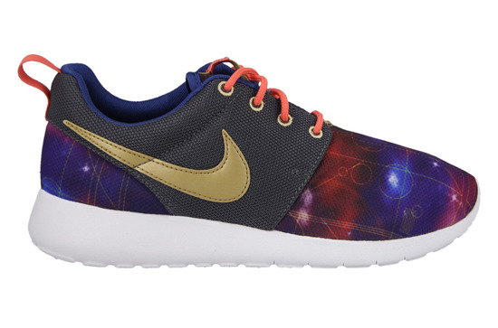 WOMEN'S SHOES  NIKE ROSHE ONE PRINT (GS) 677782 007