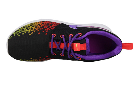 WOMEN'S SHOES NIKE ROSHE ONE PRINT (GS) 677784 003