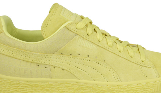 WOMEN'S SHOES PUMA SUEDE CLASSIC CASUAL EMBOSS 361372 07