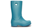 CROCS SHOES WELLINGTONS CROCS WELLIE GIRLS AQUA 12473