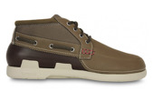 MEN'S SHOES CROCS BEACH LINE BOAT CHUKKA MEN 15924 WALNUT