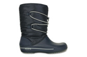 WOMEN'S SHOES SNOW BOOTS CROCS CROCBAND II.5 CINCH 201383 NAVY