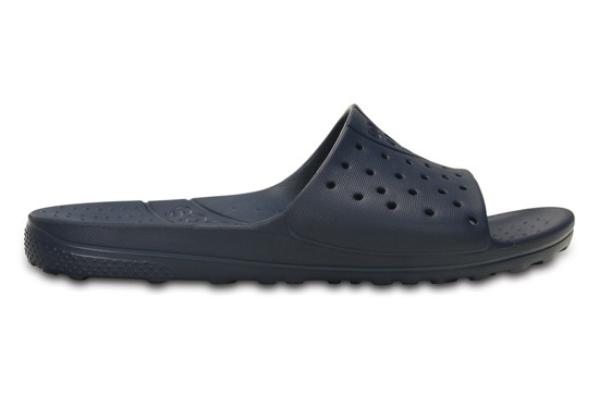 DAMEN SCHUHE FLIP-FLOPS CROCS CHAWAII SLIDE 202222 NAVY