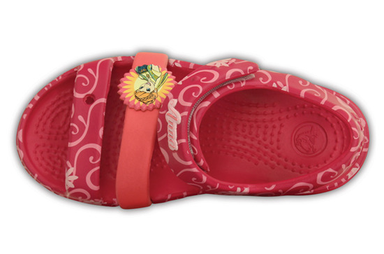 KINDER SCHUHE CROCS KEELEY FROZEN 202707 ROT