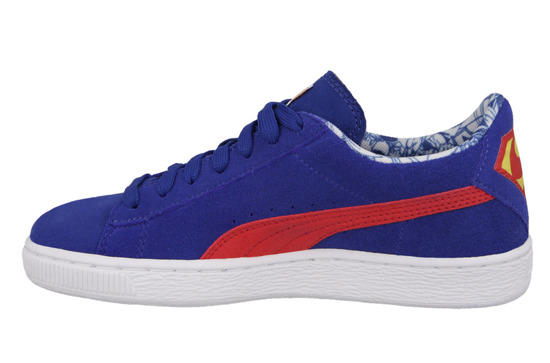 BUTY PUMA SUEDE SUPERMAN JR 357653 04