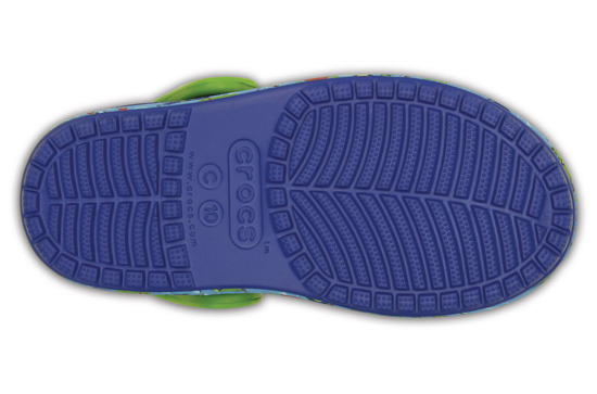KLAPKI CROCS BUMO IT SEA LIFE 202611 BLUE