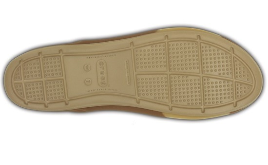 KLAPKI CROCS COLOR BLOCK FLAT 200032 BRONZE