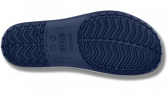 KLAPKI CROCS CROCBAND SLIDE LOW PROFILE 15692 NAVY