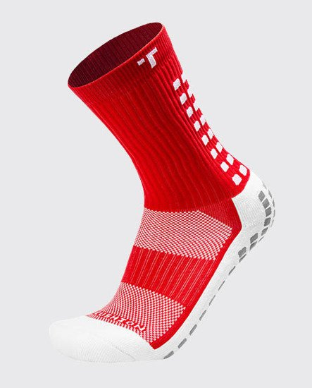 SKARPETY PIŁKARSKIE TRUSOX MID CUSHION RED