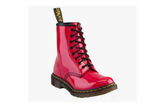 BOTY DR. MARTENS 1460 RED ROUGE
