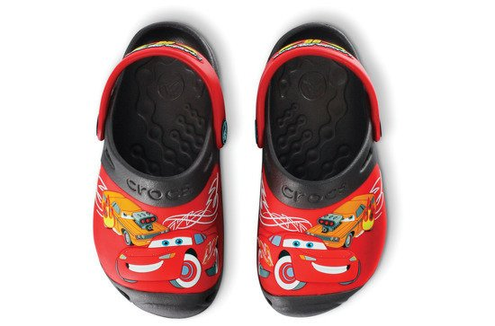 CROCS SHOES FLIP-FLOPS MCQUEEN 10864 BLACK
