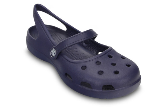 CROCS SHOES FLIP-FLOPS SHAYNA W 11212 NAUTICAL NAVY