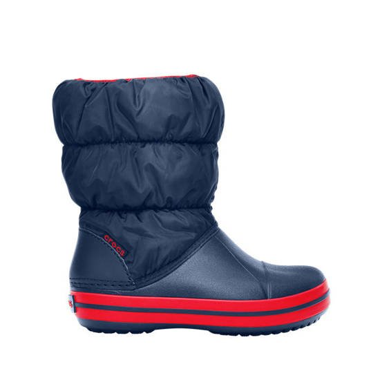 CROCS SHOES SNOW BOOTS CROCBAND WINTER PUFF 14613 navy