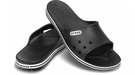 MEN'S SHOES FLIP FLOPS CROCS CROCBAND SLIDE LOW PROFILE 15692