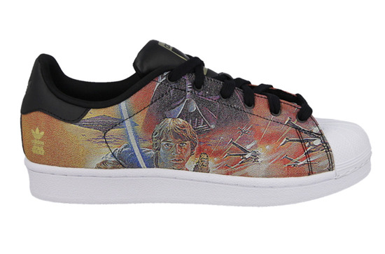 WOMEN'S SHOES  ADIDAS ORIGINALS SUPERSTAR STAR WARS B24726