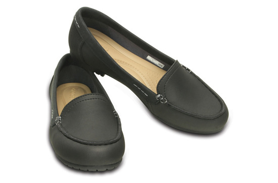 WOMEN'S SHOES CROCS BALLERINA COLORLITE CUTE LOAFER BLACK 202001