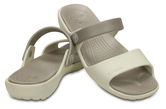 WOMEN'S SHOES CROCS CORRETTA 200067 OYSTER