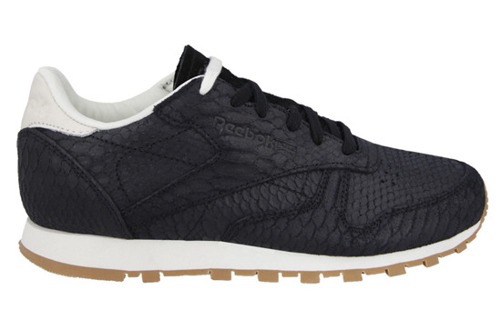 WOMEN'S SHOES REEBOK CLASSIC LEATHER CLEAN EXOTICS V68796