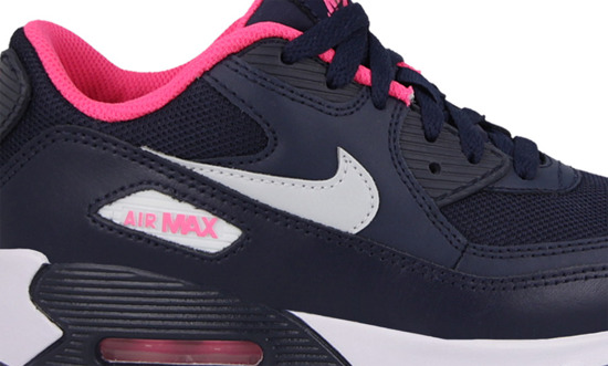 Women's Shoes Nike Air Max 90 Mesh (PS) 724856 400