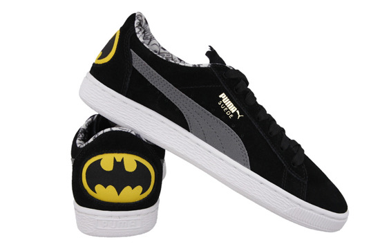 DAMEN SCHUHE PUMA SUEDE BATMAN JR 361254 01