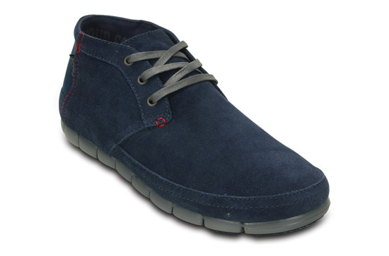 HERREN SCHUHE CROCS STRETCH SOLE DESERT NAVY 201195