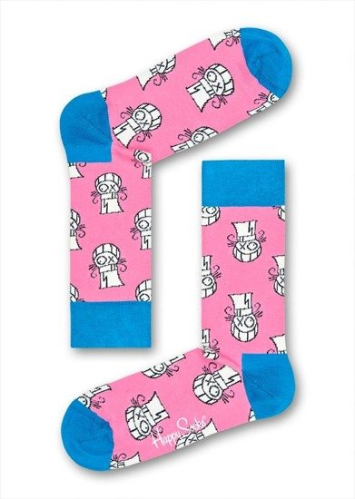 SOCKEN HAPPY SOCKS 3-PACK XAS08 6000
