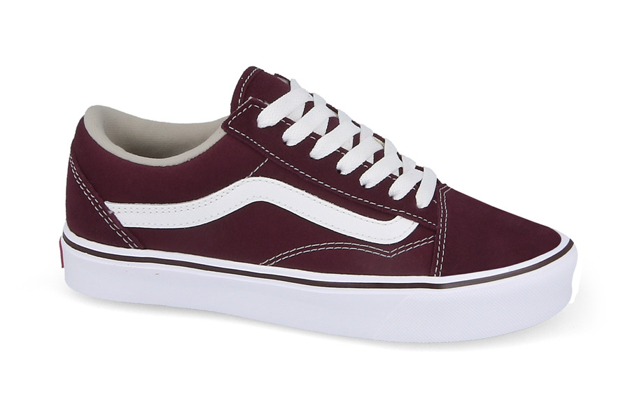 vans old school bordowe damskie