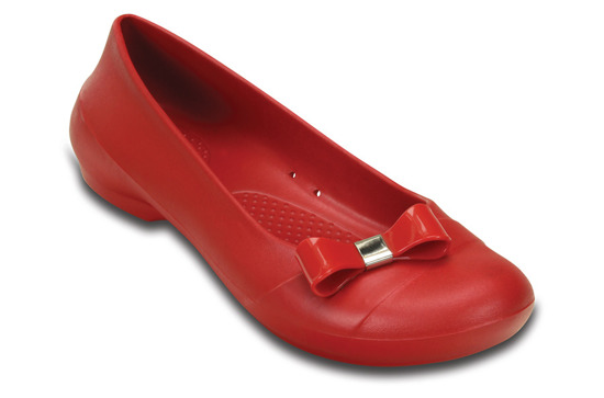 BALERINY CROCS GIANNA SIMPLE 200871 PEPPER
