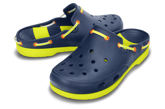 KLAPKI CROCS BEACH LINE 15334 NAVY/CITRUS