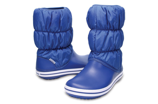 ŚNIEGOWCE CROCS WINTER PUFF BOOT 14614 BLUE